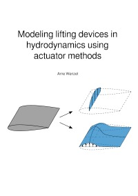 Modeling lifting devices in hydrodynamics using actuator methods - Modellierung von Auftriebskörpern mittels Aktuator-Methoden in der Hydrodynamik - Arne Wenzel