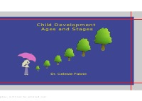 Child Development - Ages and Stages - Celeste Fabrie