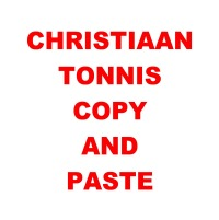 Copy and Paste - Republished - Christiaan Tonnis