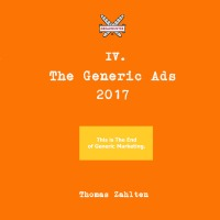 The Generic BREADHUNTER Ads 2017 - The Coffeetable Paperback Edition - Thomas Zahlten